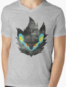 Luxray Face 2 Mens V-Neck T-Shirt