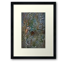 Volcanic Landmasses 3, Section 3 Framed Print