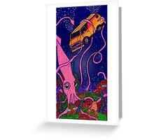 Submersion Van Greeting Card
