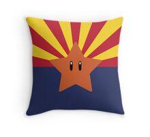 Arizona Flag Redesign Throw Pillow
