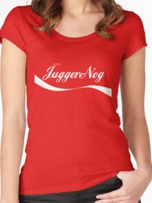 Jugger-Nog Women's Fitted Scoop T-Shirt