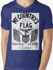 My Country's Flag Mens V-Neck T-Shirt
