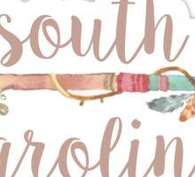 South Carolina Arrow Sticker