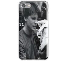 Nice Kicks, Marty! Marty Mcfly discovering the holy grail of shoes iPhone Case/Skin