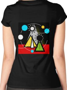 Orbit Women's Fitted Scoop T-Shirt