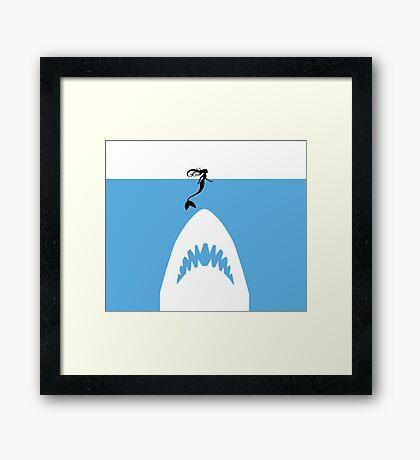 Fish Food Framed Print