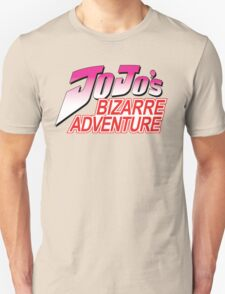JJBA Logo in English Unisex T-Shirt