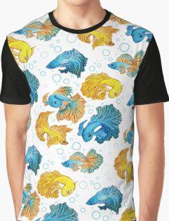 Beta Fish Graphic T-Shirt