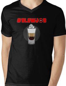 #blowjob Mens V-Neck T-Shirt