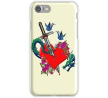 Stab in the heart 1 iPhone Case/Skin