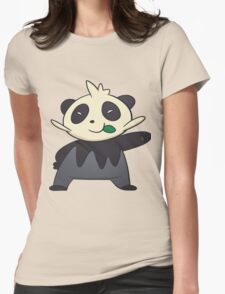 Pancham (Pokemon) Womens Fitted T-Shirt