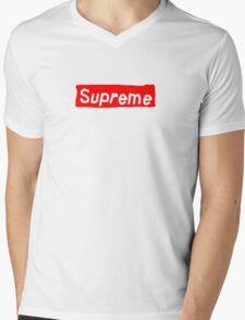 Fake ass Supreme Mens V-Neck T-Shirt