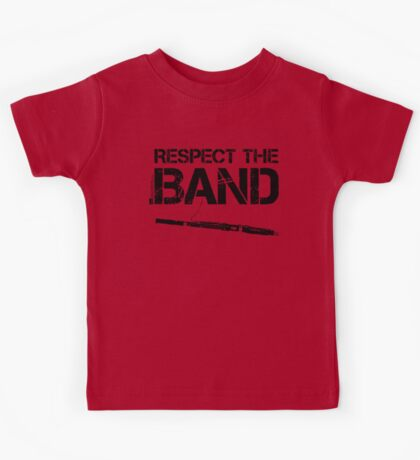 Respect The Band - Bassoon (Black Lettering) Kids Tee
