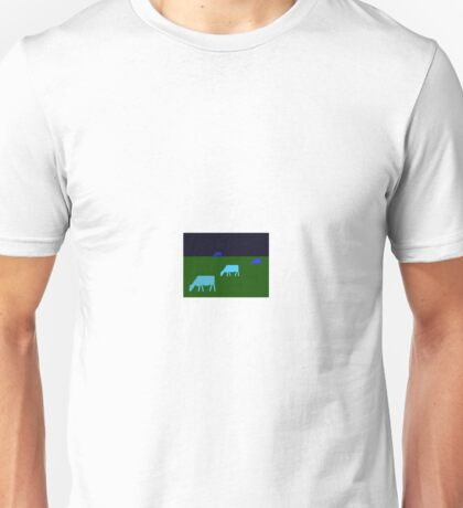 Night Cows Unisex T-Shirt