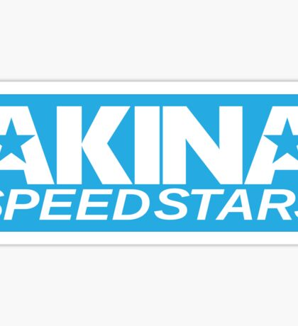 Akina Speed Stars Blue Sticker Sticker