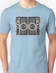 Double YASHICA_B&W T-Shirt