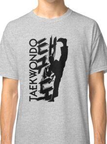 Taekwondo Kick Boy - Korean Martial Art Classic T-Shirt
