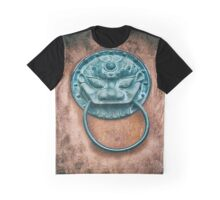 Buddhist Temple Door Knocker Graphic T-Shirt
