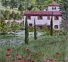Spring in Tuscany by Freda Surgenor