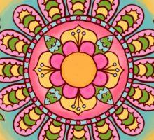 Happy Garden Mandala Sticker