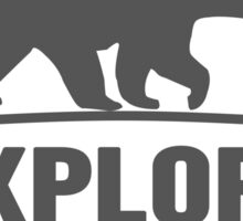 Explore Bear | Stay Wild Sticker