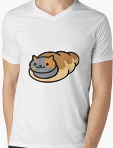 Neko Atsume Spooky Mens V-Neck T-Shirt