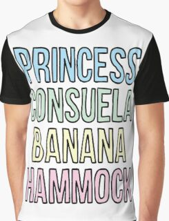 Princess Consuela Banana Hammock Graphic T-Shirt