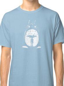 cute raining umbrela totoro Classic T-Shirt