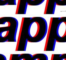 3D Kappa Kappa Gamma Sticker