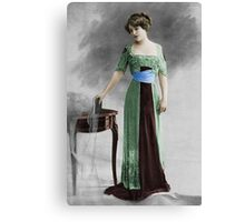 Evening Gown Canvas Print