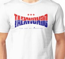 Taekwondo Chest Logo Cool - Korean Martial Art Unisex T-Shirt