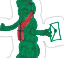 Postie Pickle Sticker