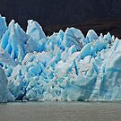 The Blue of Grey Glacier  by Graeme  Hyde