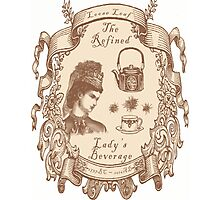 The Refined Lady's Beverage Photographic Print
