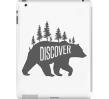 Discover Bear with Trees iPad Case/Skin
