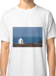 The Monkey Hut on Portreath Pier Classic T-Shirt
