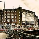 Muntplein square, Amsterdam by andreisky