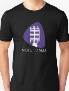 BSU Note to Self - Classic Unisex T-Shirt