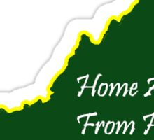 William & Mary Home away from Home Sticker
