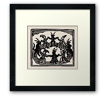 Witches Circle Dance Framed Print