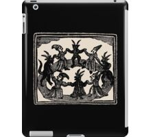 Witches Circle Dance iPad Case/Skin
