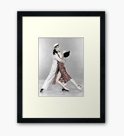 Fred Astaire & Cyd Charisse  Framed Print