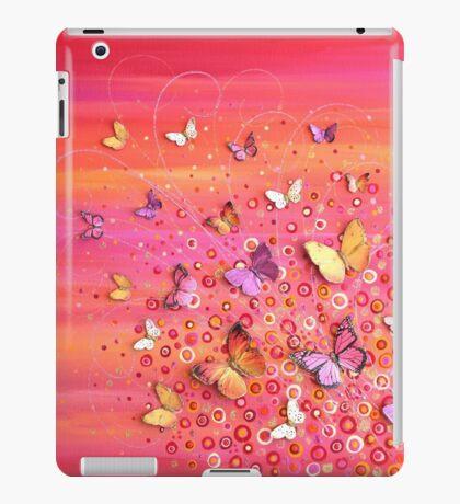 Rush - Pink Orange Flower Meadow iPad Case/Skin