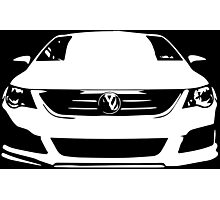 VW - CC (white) Photographic Print