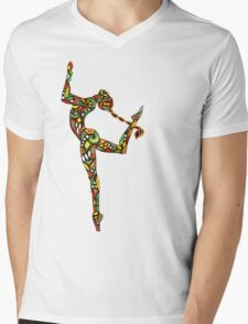 Gracie Mens V-Neck T-Shirt