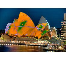Luminous Opera House, Cahill Expressway Perspective Photographic Print