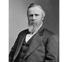 President Rutherford B. Hayes Photographic Print