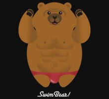 SPEEDO SWIMBEAR by peter chebatte