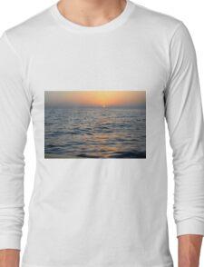 Sunset at the sea. Long Sleeve T-Shirt