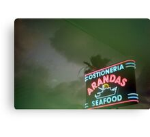 Mexican Seafood Night Canvas Print